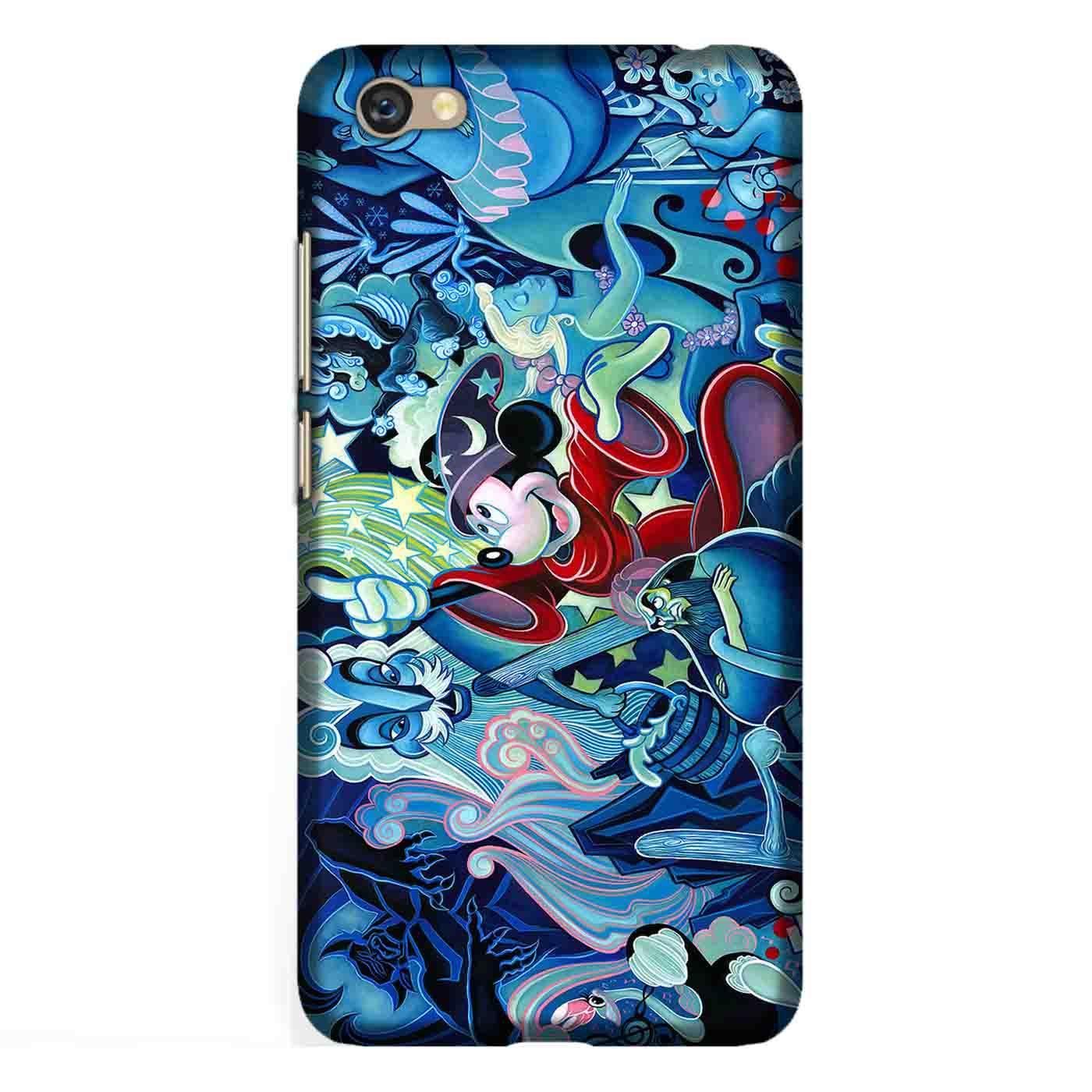 Casing Hardcase Bergambar Motif Mickey Mouse 4 untuk Handphone Xiaomi Redmi Note 5A Case Custom Full Print