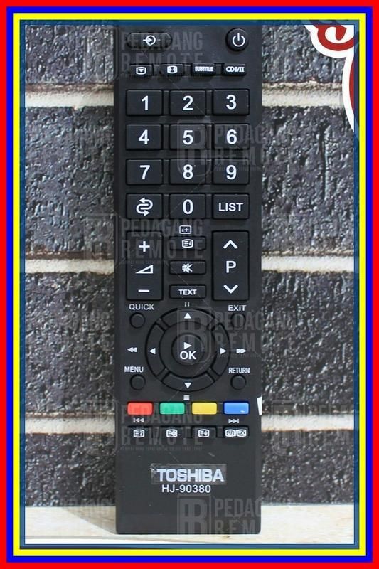 Remot Remote Tv Lcd Led Toshiba Regza Ct90380 Ct90336 Kw Super