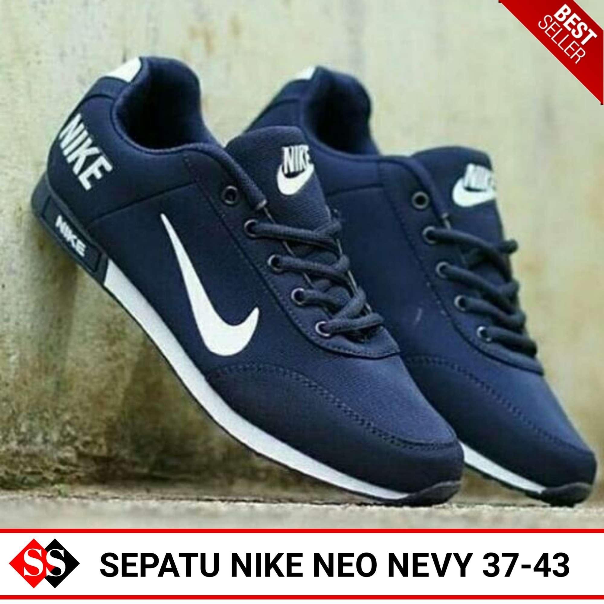 Sepatu Sneakers Pria dan Wanita Nike Neo Sport Impor Vietnam