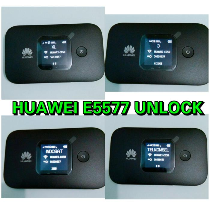 DISKON HUAWEI E5577 Unlock 4G semua operator | modem mifi seperti bolt slim 2