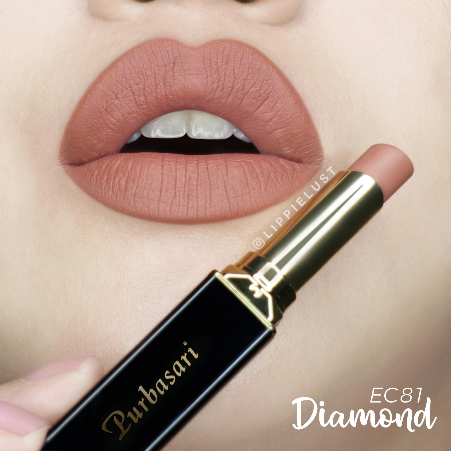 Purbasari Lipstick Collor Matte 81