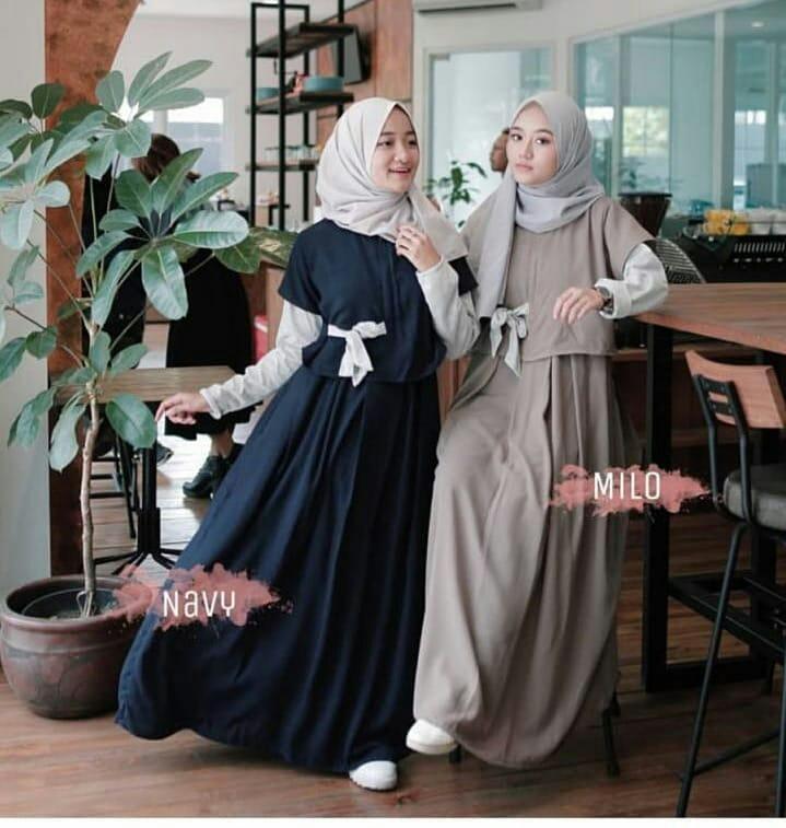 MC Denada Dress Balotely Baju Gamis Wanita Muslim Panjang Supplier Maxy  Termurah Fashion Hijab Syari Terbaru e797e57df9