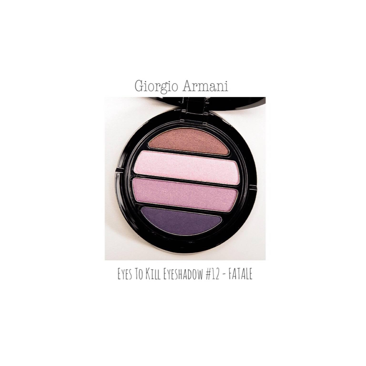 Giorgio Armani eyes to kill eyeshadow quad shade 12 - FATALE