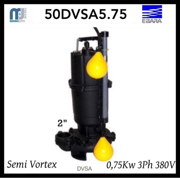 Pompa EBARA 50DVSA5.75 Submersible Pump Ebara Air Kotor Autometic