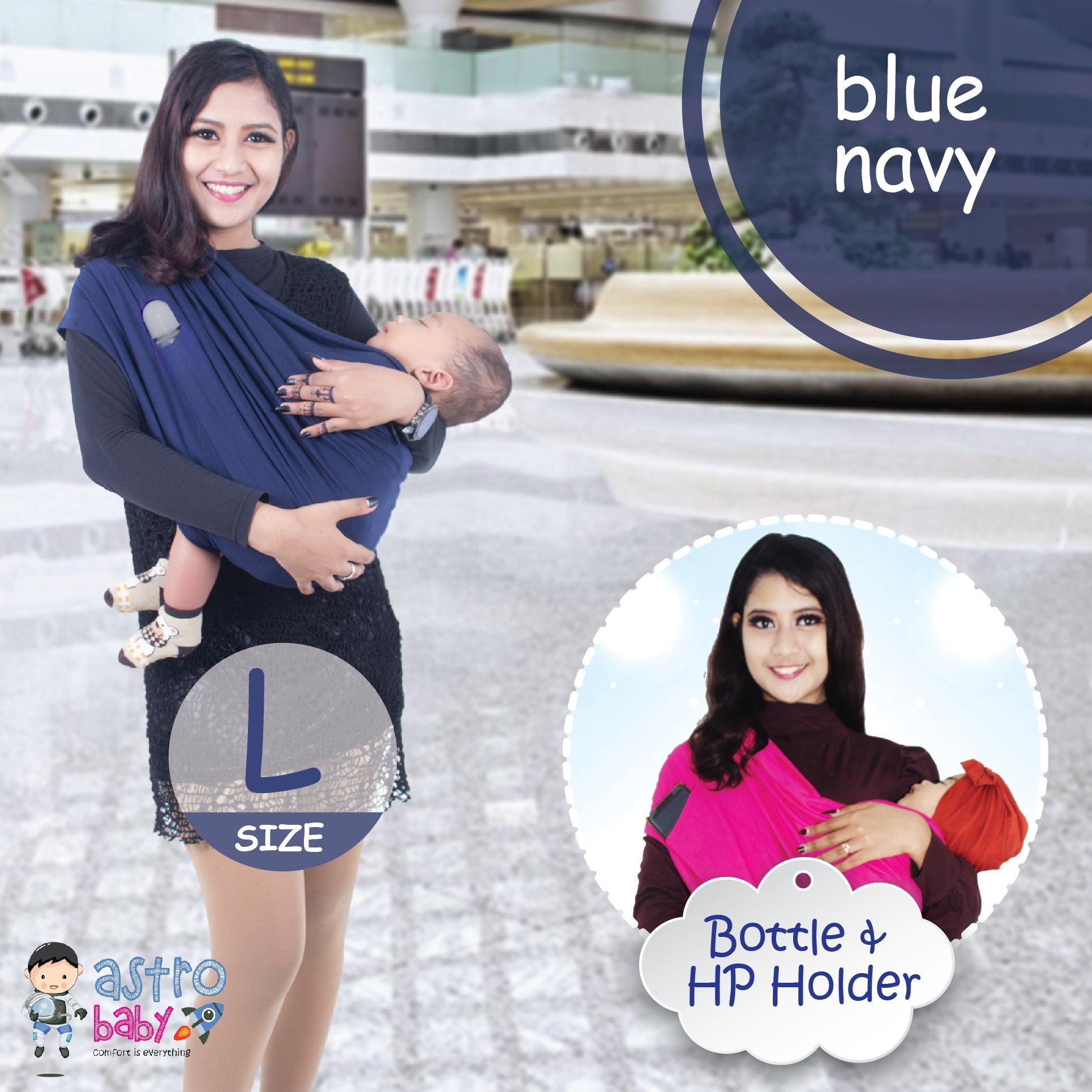 Sling Bayi Terbaik Geos Bayiku Id 2in1 Instant Baby Wrap Astro Kualitas Premium Gendongan Kaos