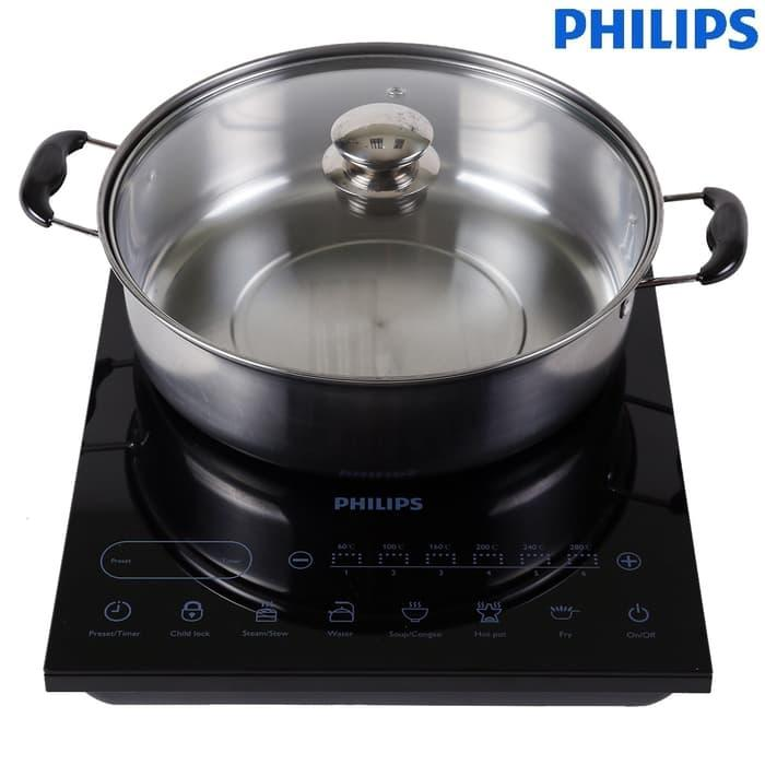 Philips Induction Cooker Hd4932 Kompor Induksi Hd 4932 Free Panci - ready stock