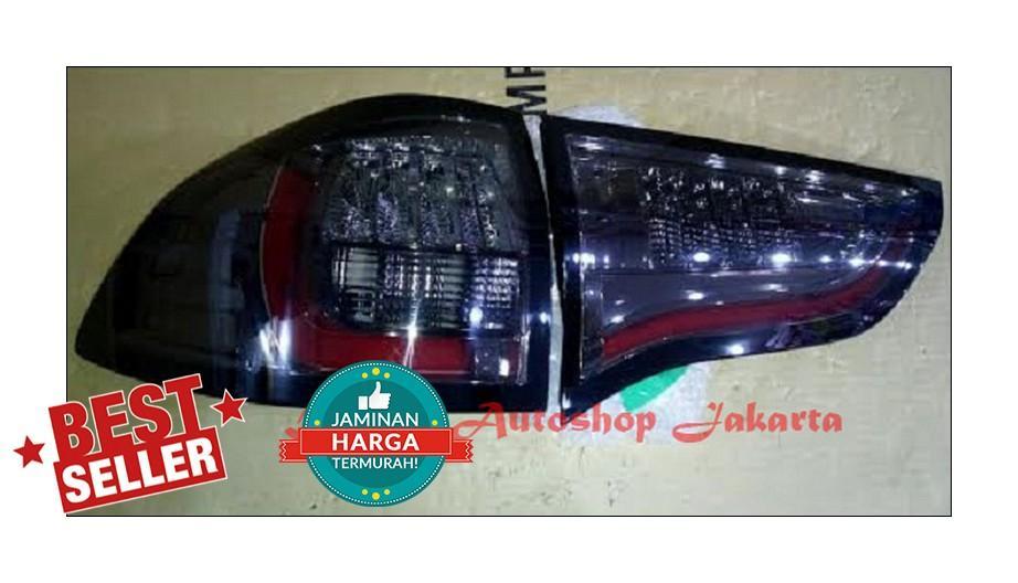 Stoplamp Mitsubishi Pajero Sport 2009 - 2014 LED Bar Red Strip Smoke E