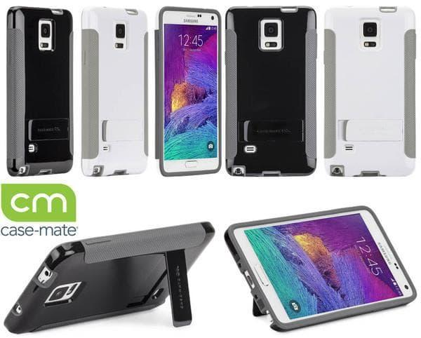 Casing & Cover SALE!!  Pop Stand Samsung Galaxy Note 4 Original - Black/Grey