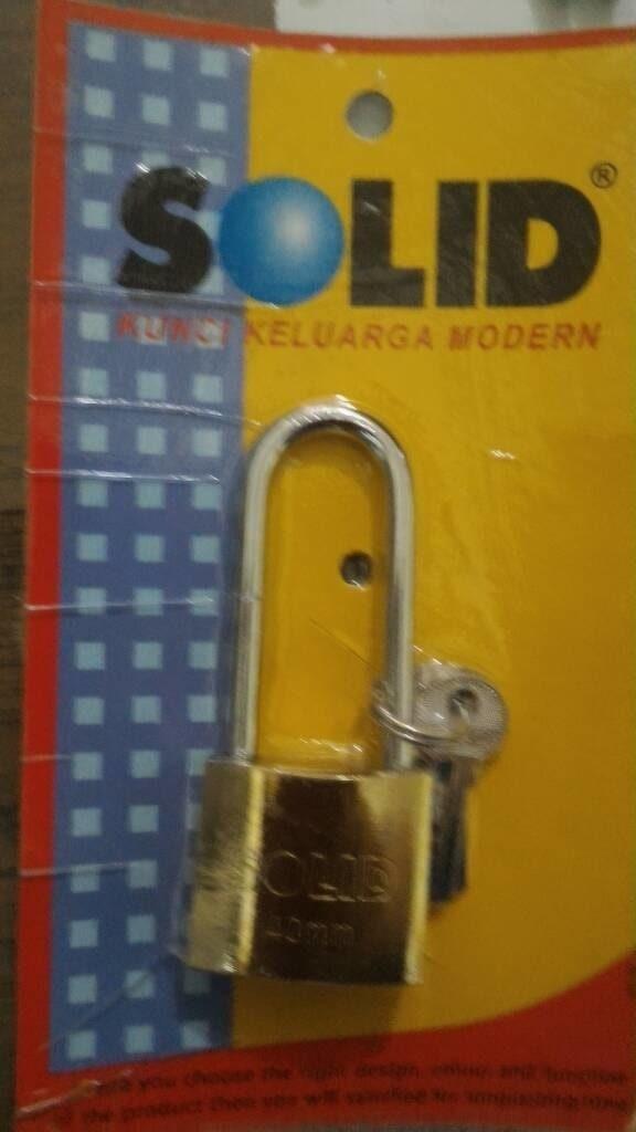 Gembok Solid 818 50/60 Mm Panjang/Pendek
