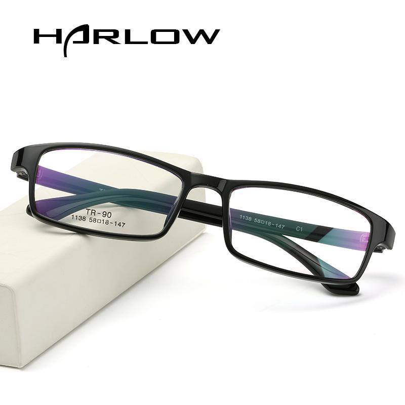 Tr90 miopia Frame kacamata Pria dan wanita Ukuran Sangat Besar 配镜架 produk jadi mata Wajah Besar Gemuk Bingkai Kacamata Pria dan wanita sangat ringan