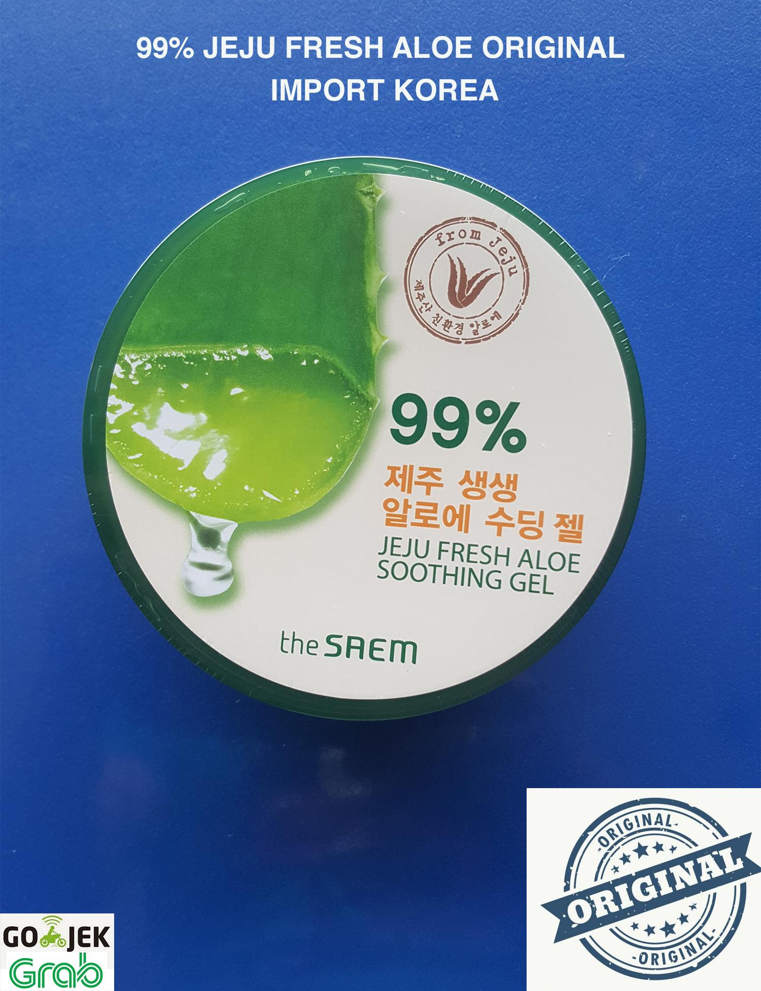 Buy Sell Cheapest The Saem Original Best Quality Product Deals Snail Soothing Gel 100 Jeju Fresh Aloe 99