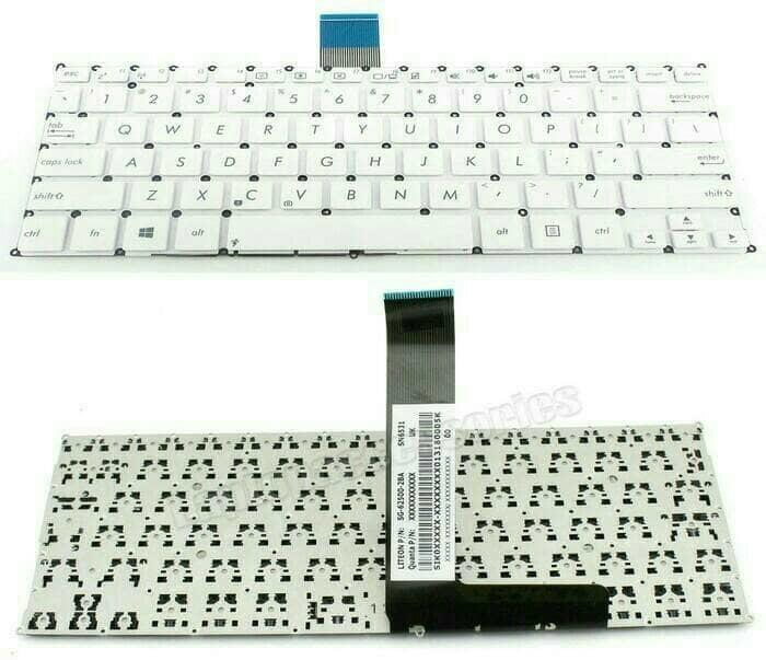 Terbaru!! Keyboard Asus X200 X200Ca X200Ma X200M X200C Putih - ready stock