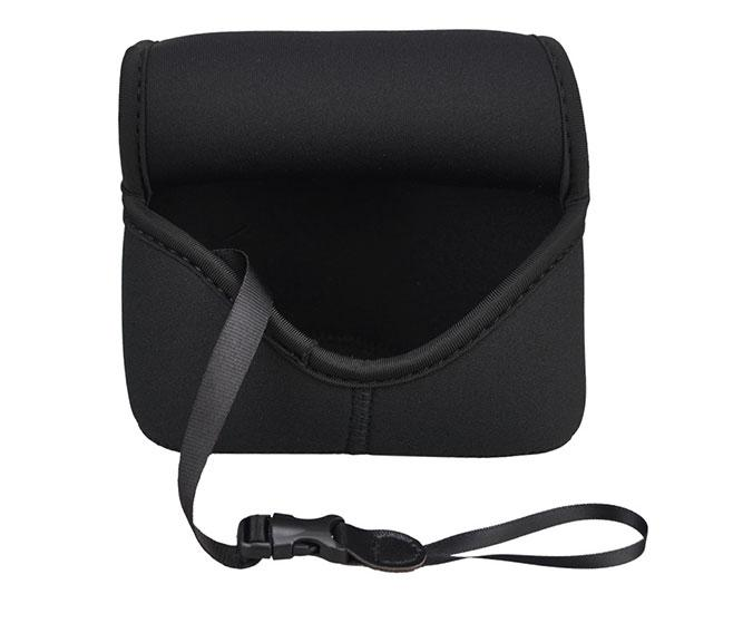 JJC Neoprene Mirrorless Compact Camera Case Camera Soft Protective Bag for Sony A5000, A5100, A6000,A6300 A6500+18-55mm or E 50mm f/1.8 OSS Lens, Fujifilm X-M1 X-T10 X-A2 + 16-50mm or 18-55mm Lens, Olympus E-PL3 EP5+ 12-50mm Lens -Medium