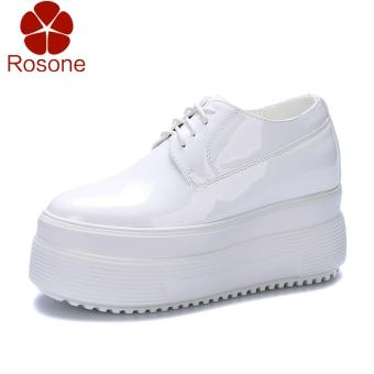 Penjualan Gaya Korea Musim Semi 2018 model baru Sepatu Golden Goose sepatu  putih kecil wanita netral murid Sol Tebal tumit tinggi sepatu wanita putih  ... 5e14bd9d0d