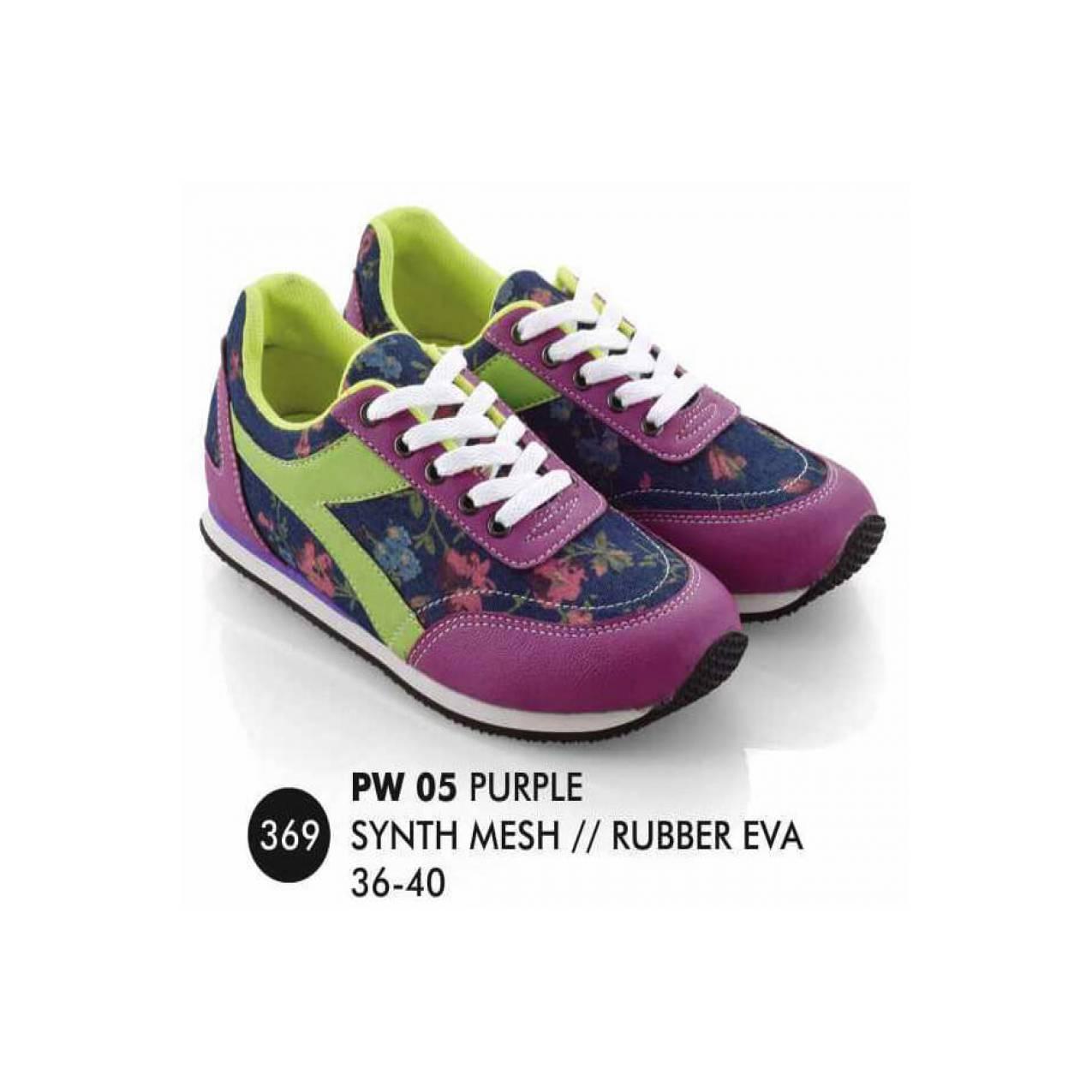Wanita Everflow 100 Original PW 05. Sepatu Olahraga Wanita Everflow 100 Original .