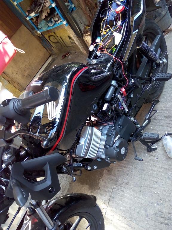 SALE Remote Alarm+Stater Honda CB150VERSA Diajari Cara Peang Sampai Bisa SJ0050