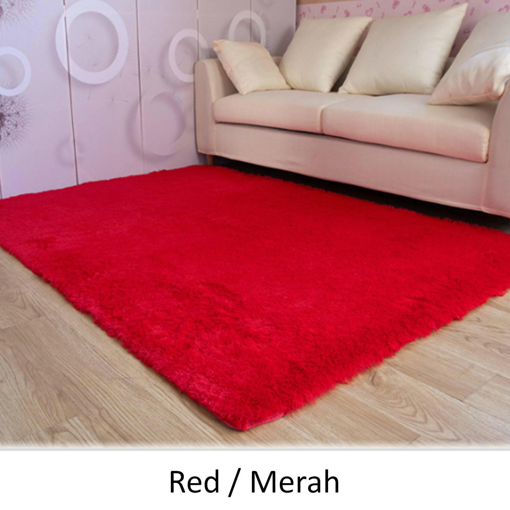 karpet lantai bulu import china ukuran 100 x 160