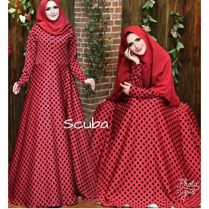 Nurulcollection-Baju Dress Gaun Gamis Syari murah/Gamis terbaru/Gamis Premium polos/Gamis Jumbo/Gamis set khimar tiga layer