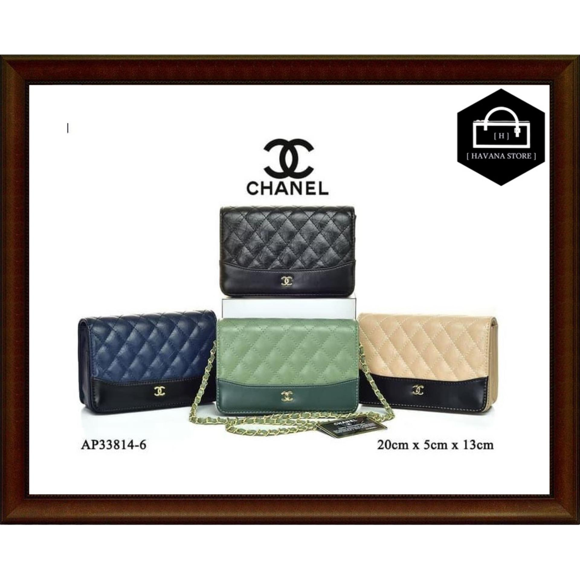 new Clutch Chanel WOC Gabrielle Flap Semi Premium AP33814-6   bag   branded    0ffc901ac4