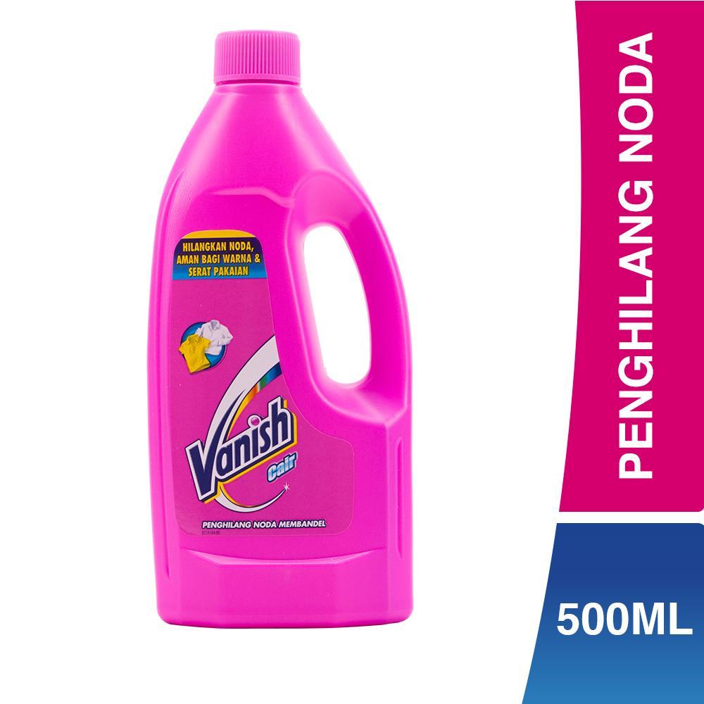 Vanish Cair (Pink) - Botol 500mL - Penghilang Noda pada Pakaian