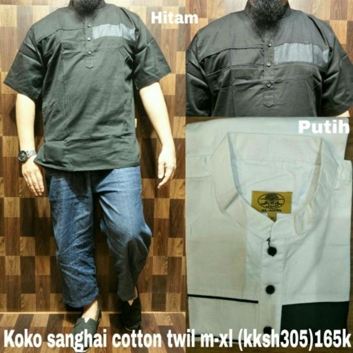 Koko Cotton Twill M-XL Al Amwa Muslim Jubah Gamis Sirwal Setelan Anak