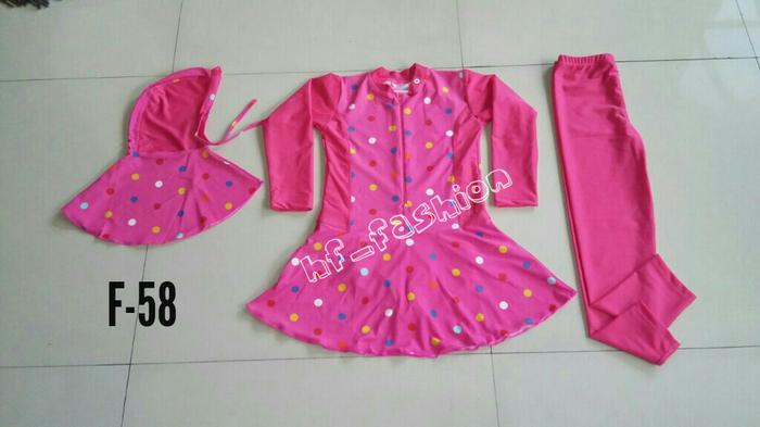 BEST SELLER!!! baju renang muslim anak usia 6 sd 10th - kWstYE