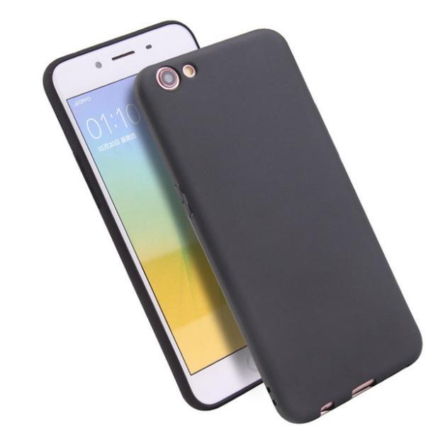 iCase Casing Hp UltraSlim Black Matte Hybrid Case for OPPO F3 - Black