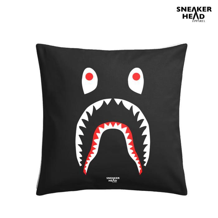 PROMO!!! Bantal Hypebeast sneaker fans BAPE - SHARK - wII94H