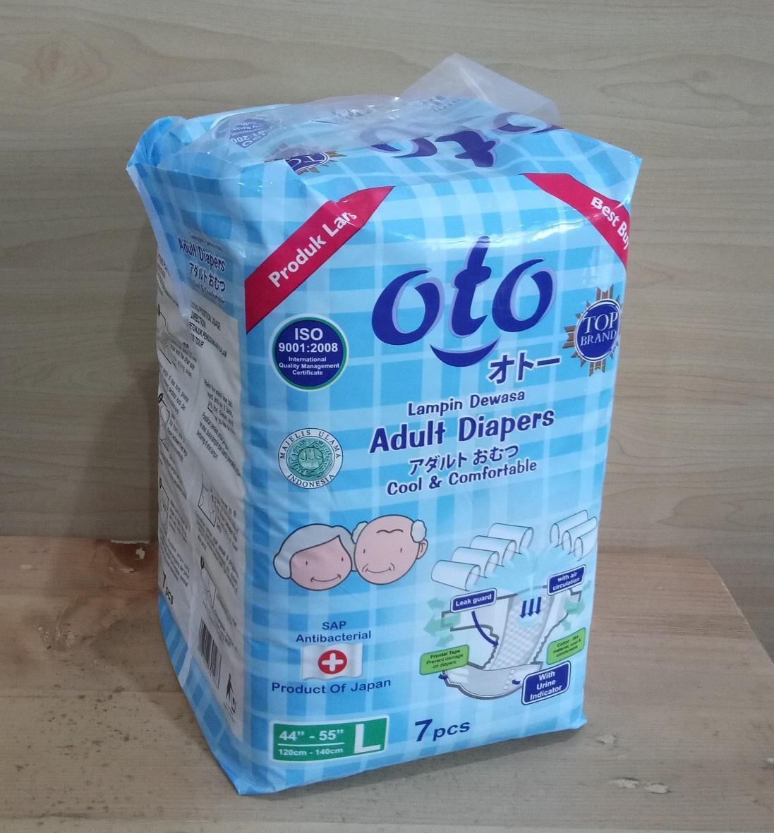 Lampin Dewasa Oto Adult Diapers Daftar Harga Terbaru Dan Bp 6xl Diaper Popok Ukuran Xl Isi 6pcs Perekat L 7 X