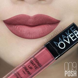 Make Over Intense Matte [009] Lip Cream - Posh thumbnail