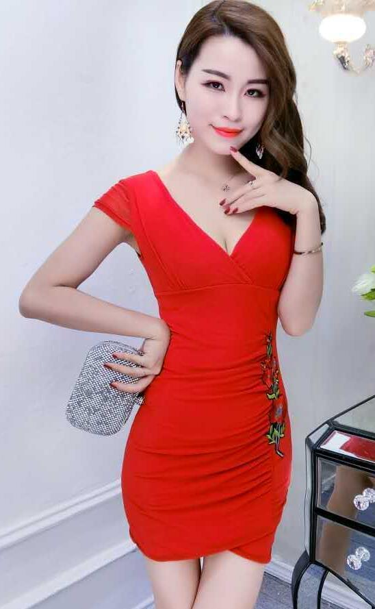 Klub malam baju wanita model baru Dunia Malam baju wanita seksi Elegan  perempuan musim panas klub 8a716f661f