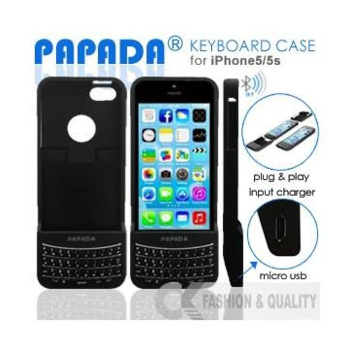 Papada Keyboard case iphone 5 5g 5s original