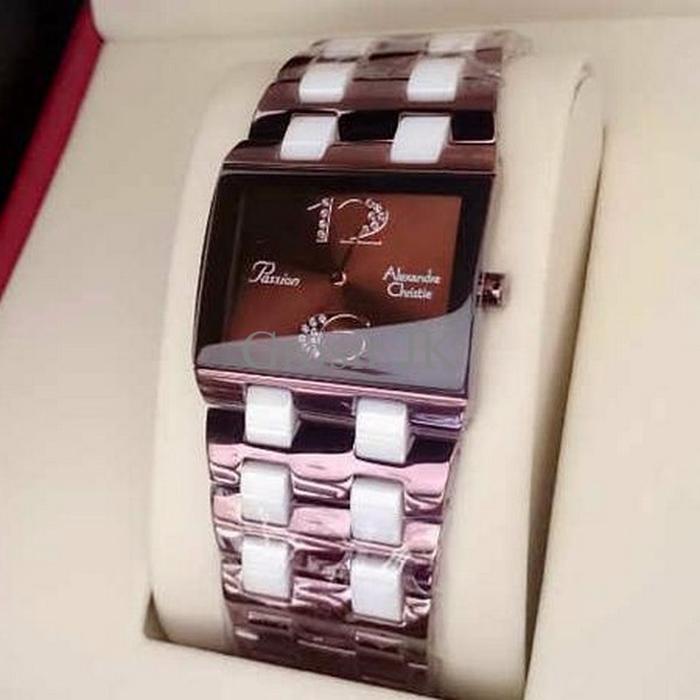 Jam Tangan Alexandre Christie Ac 2182 Coklat