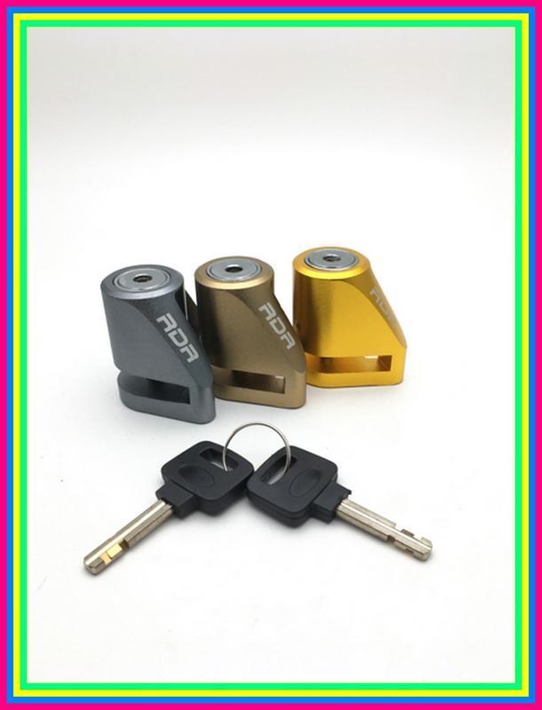 Kunci Gembok Cakram Triangle Disclock