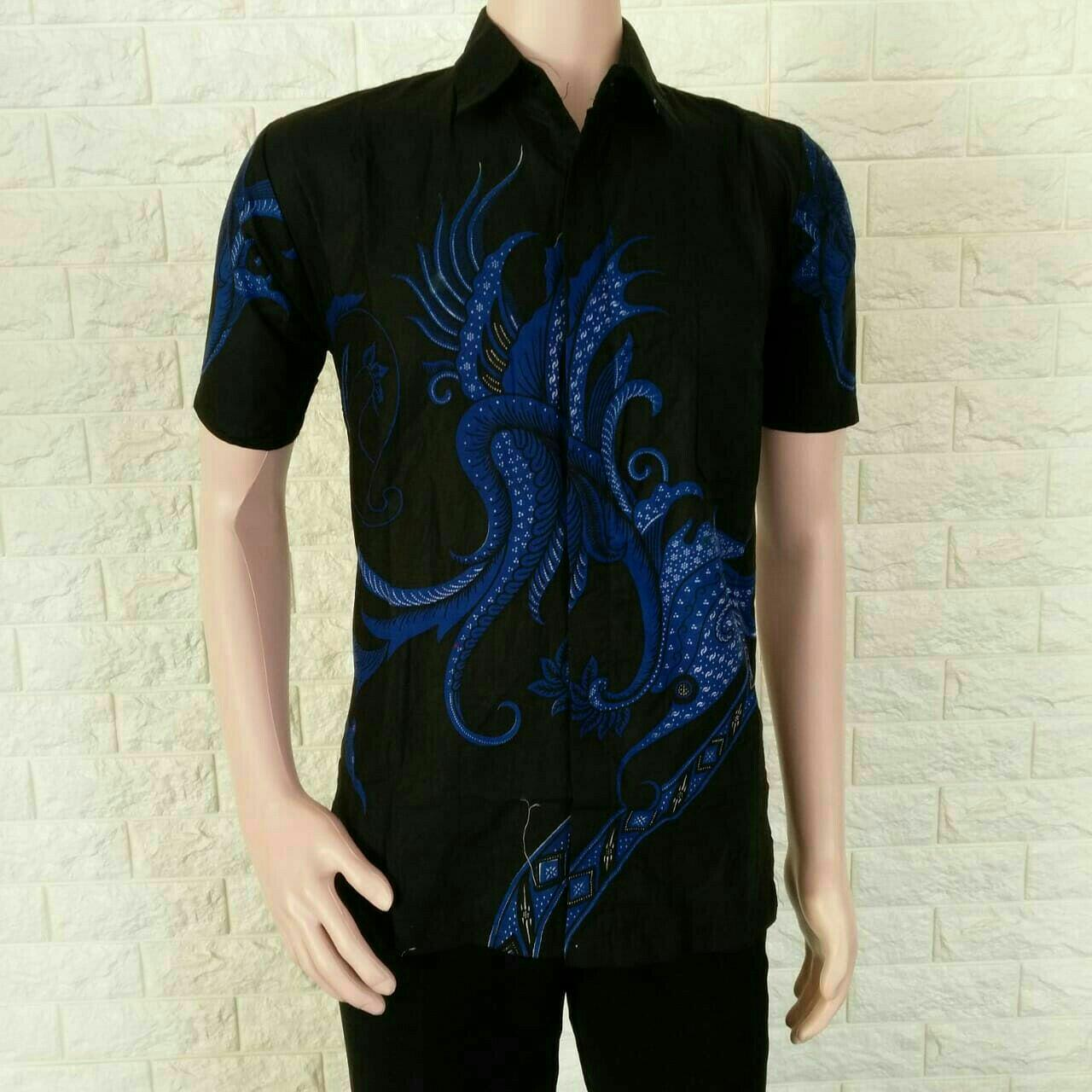 Kemeja Batik Pria Kemeja Batik Eksklusif  Baju Batik Modern Casual Pria