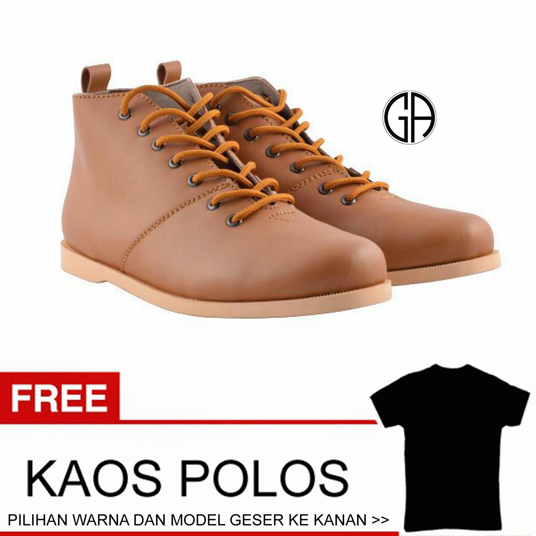 Shoes Hummer Sepatu Semi Boots Humm3r Balado