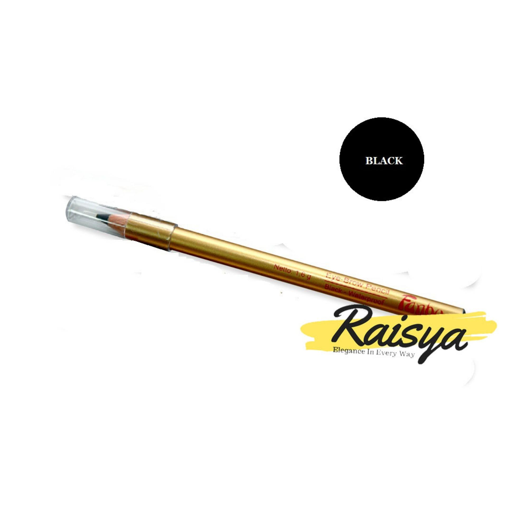 Fanbo Gold Eyebrow Pensil Alis - Hitam - Original