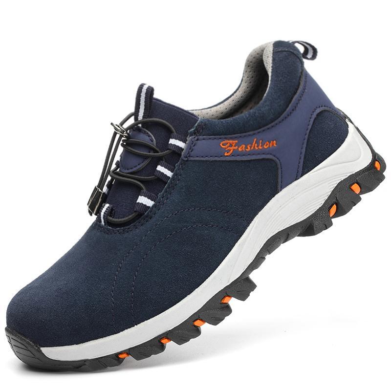 Sepatu Pengaman Pria Sol Sepatu Baja Anti-Smashing Anti Benda Tajam Memakai Musim Panas Bernapas Anti Bau Casual Anti Selip Ringan Sepatu Pengaman Sepatu Kerja By Koleksi Taobao.