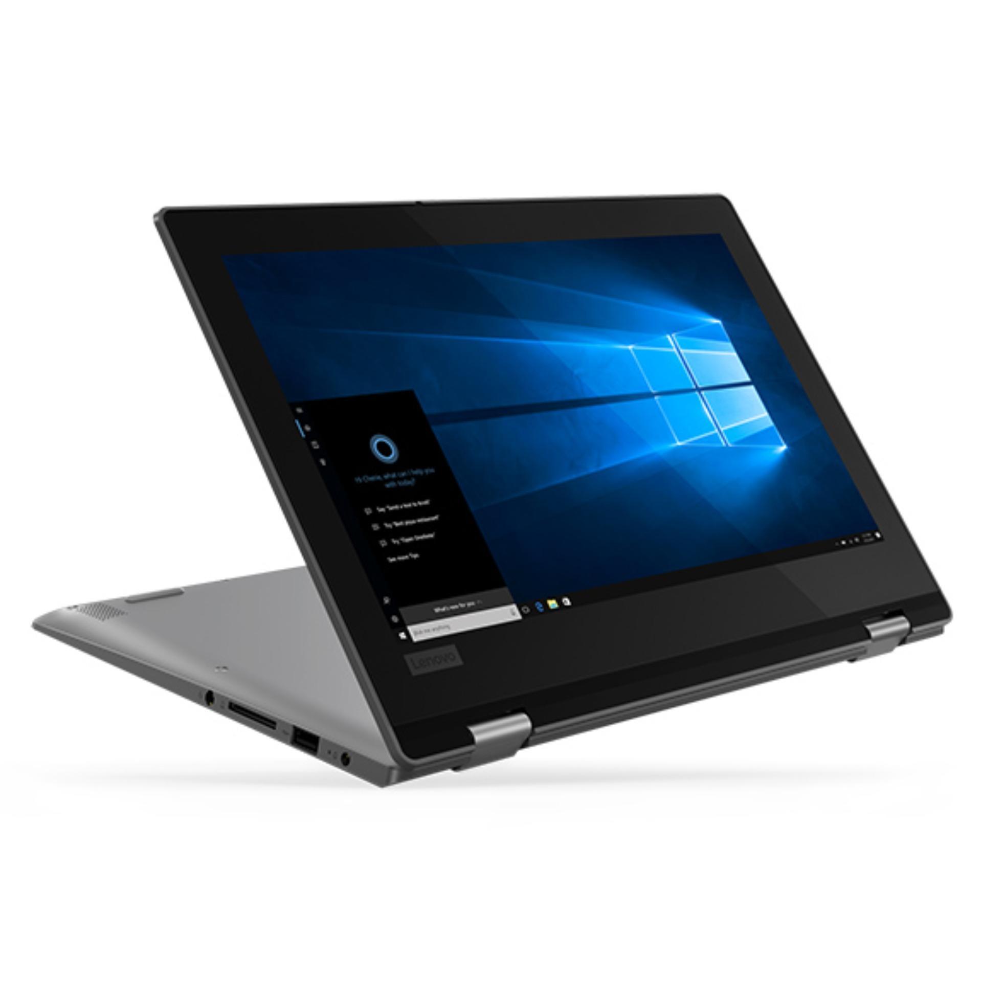 Lenovo Ideapad Yoga 330-51ID Pentium N5000 (4GBDDR4/256GBSSD/Integrated/Windows10Home/11.6inch/Black/1YR) Touchscreen