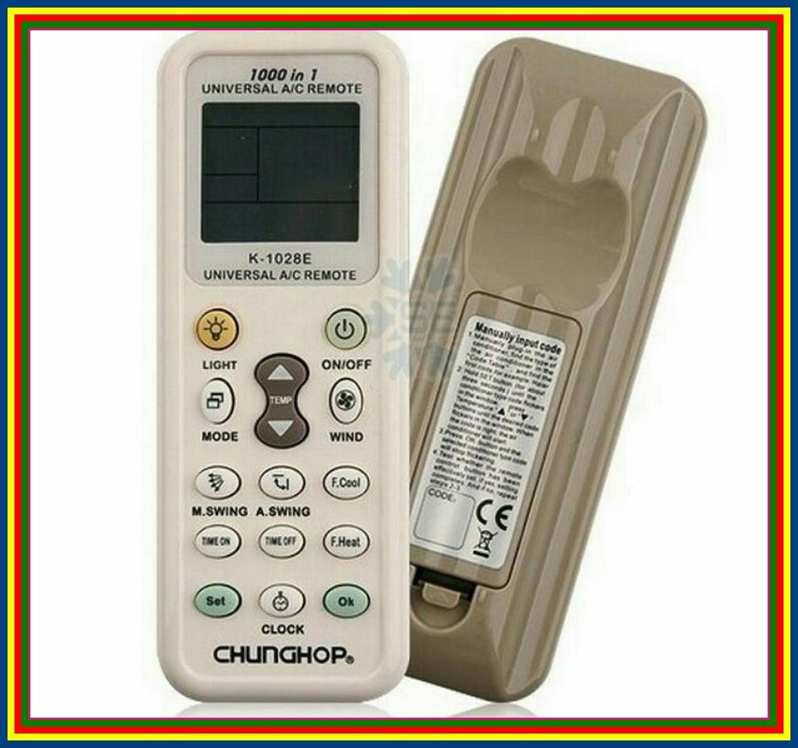 Remot Remote AC LG Mitsubishi National Panasonic Multi Universal