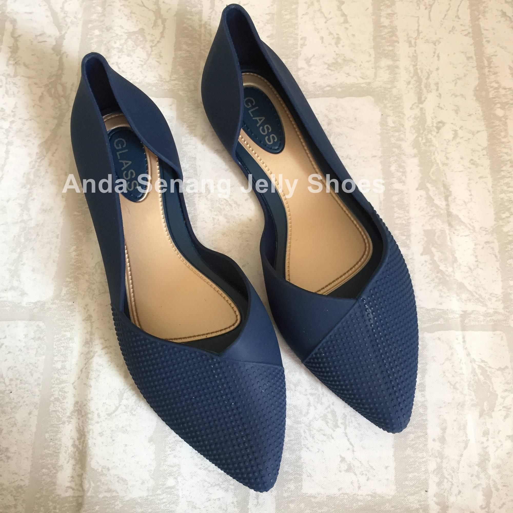 Buy Sell Cheapest Jelly Shoes Lancip Best Quality Product Deals Yumeida Sepatu Kerja Termurah Wanita Flat