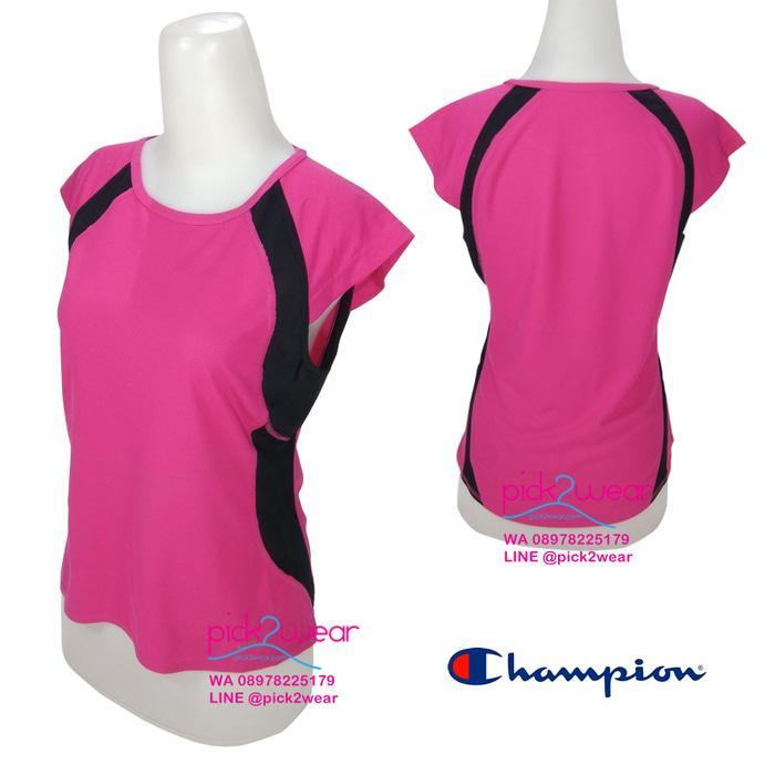 HARGA SPESIAL!!! Tshirt sport kaos olahraga senam fitness zumba pink – CYQI9p
