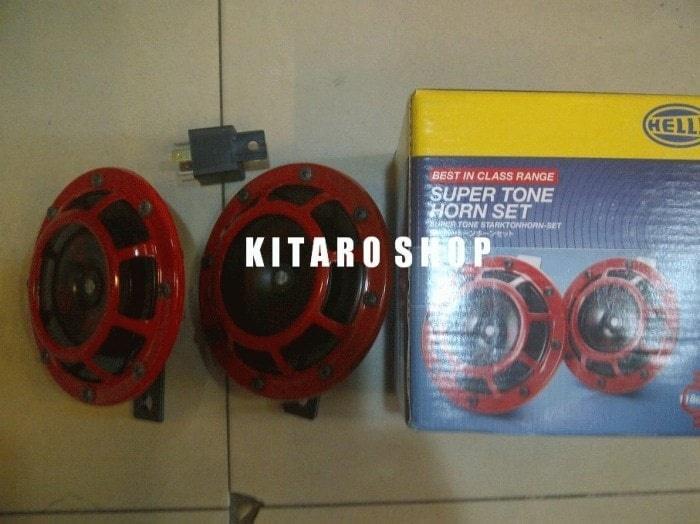 KTM - Klakson Hella super tune  | ( klakson motor mobil keong denso suara waterproof telolet hella polisi sepeda fer ) |