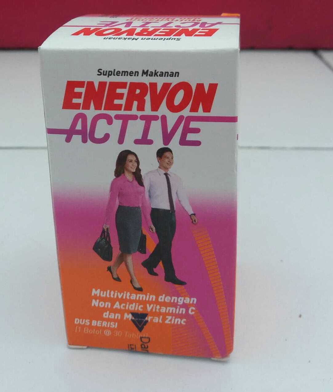 Enervon C Tablet Botol 30s Vitamin Dan B Menjaga Daya Tahan Tubuh Ezymplek Tab Active Isi 30