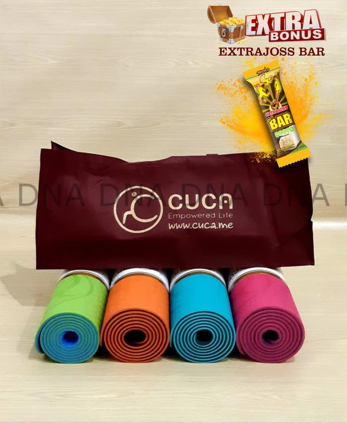 BEST SELLER!!! Matras Yoga Premium TPE 6mm CUCA / Premium Yoga Mat 6mm - ORIGINAL - 7cpGkW