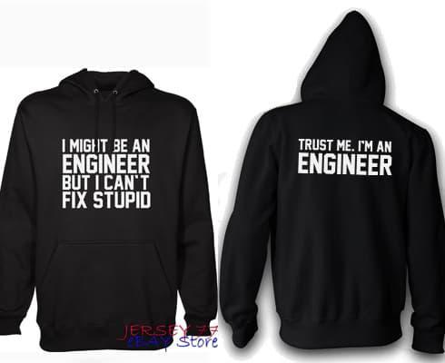 Hemat 10%!! HOODIE I'M AN ENGINEER BUT CANT FIX STUPID JAKET SWEATER KEREN - ready stock