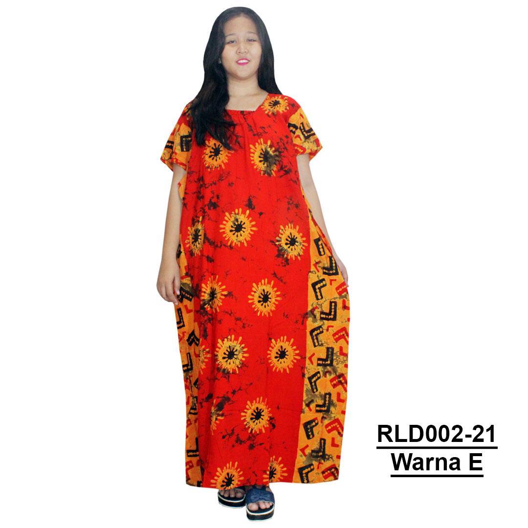 Longdres Kalong, Kelelawar, Lowo Batik Cap Halus Pekalongan, Baju Tidur, Piyama, Leher Kerut (RLD002-21) Batik Alhadi