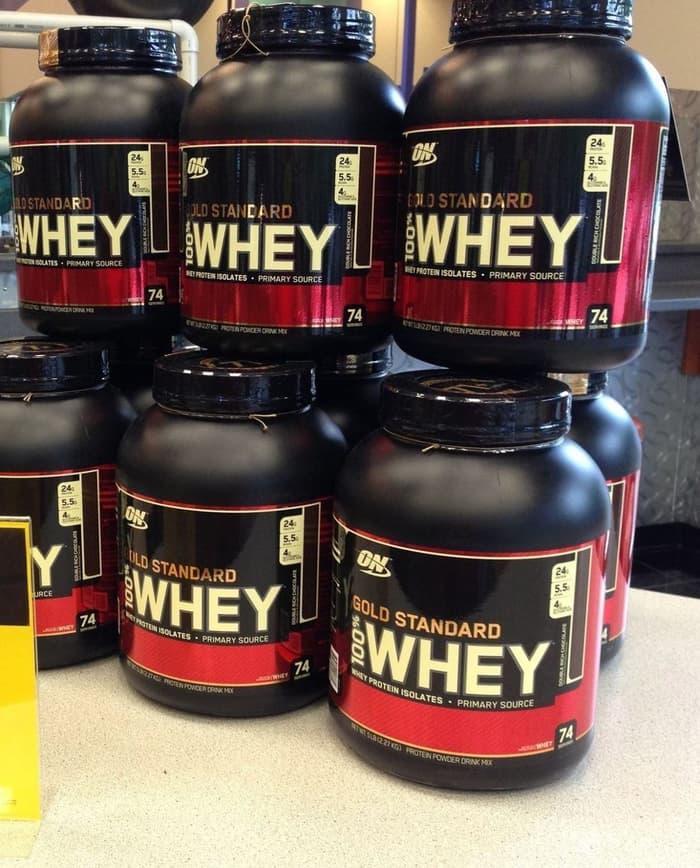 WHEY GOLD STANDART 5Lbs ON NUTRITION [Supplement fitnes GYM Surabaya]
