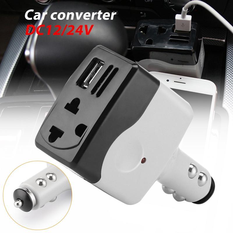 ... Car Adapter. IDR 66,000 IDR66000. View Detail. Kurry Inverter Mobil Mobil Conventer Efisien DC12/24 AC220V Mobil Outlet