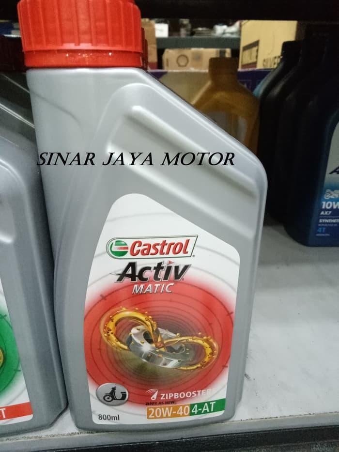 Bayar Di Tempat / Oli Castrol Activ Matic 20W40 800Ml Motor Matic HONDA Yahama Suzuki